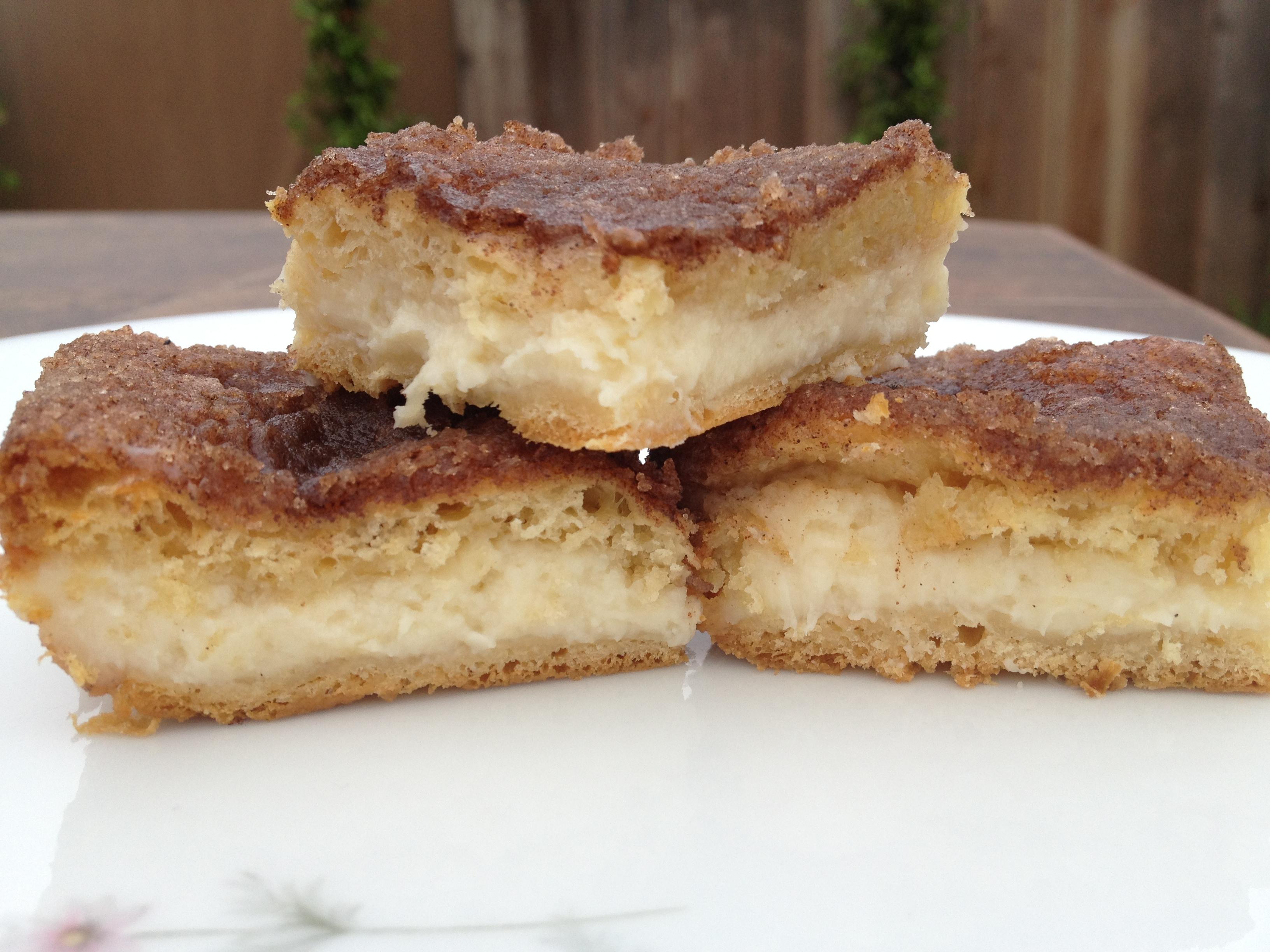 Cinnamon Cheesecake Bars | busymomblogs